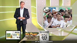 Sorteo ONCE - 15/06/17