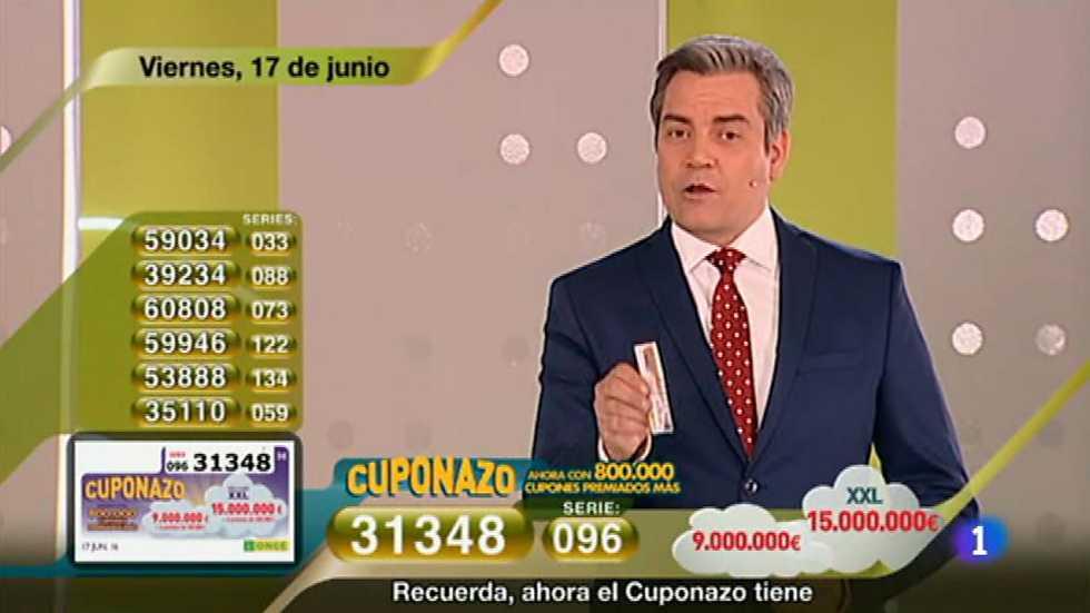 Sorteo ONCE - 17/06/16