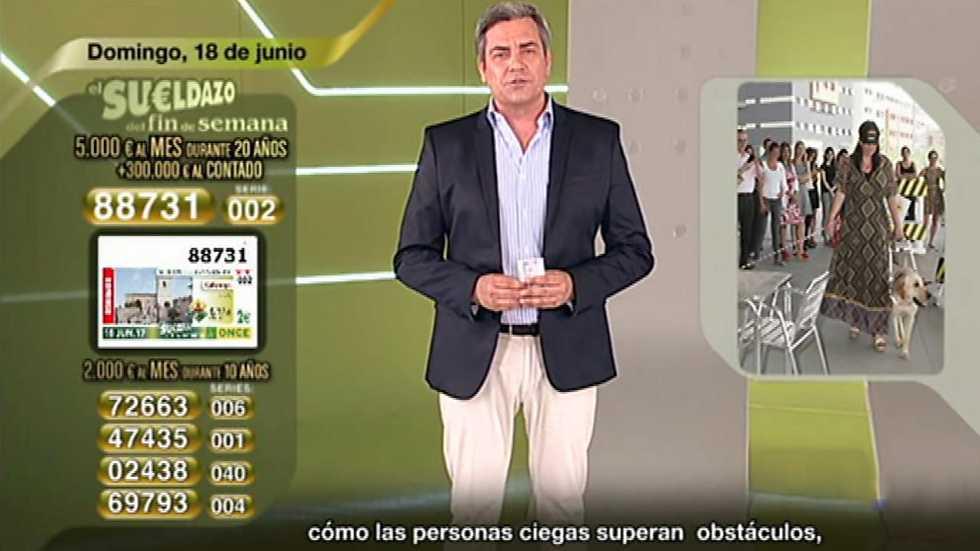 Sorteo ONCE - 18/06/17
