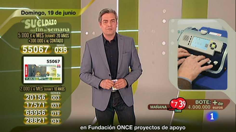Sorteo ONCE - 19/06/16