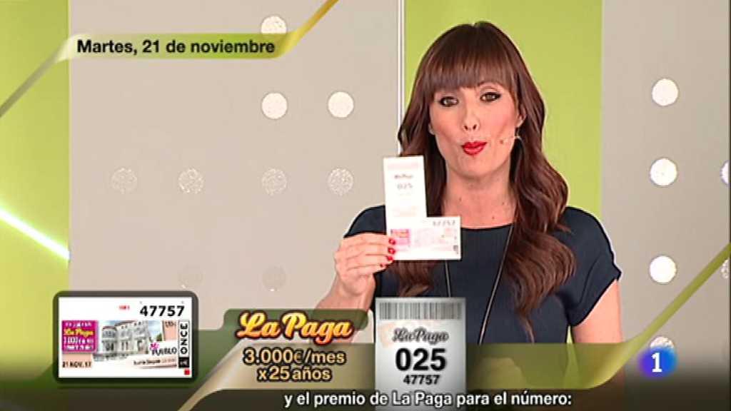 Sorteo ONCE - 21/11/17