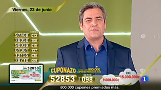 Sorteo ONCE - 23/06/17