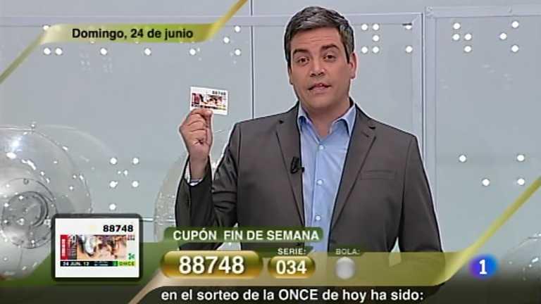 Sorteo ONCE - 24/06/12