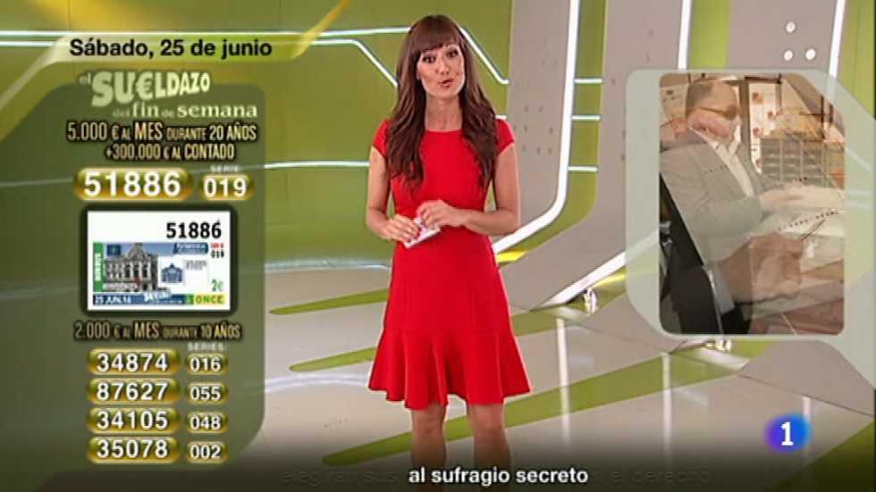 Sorteo ONCE - 25/06/16
