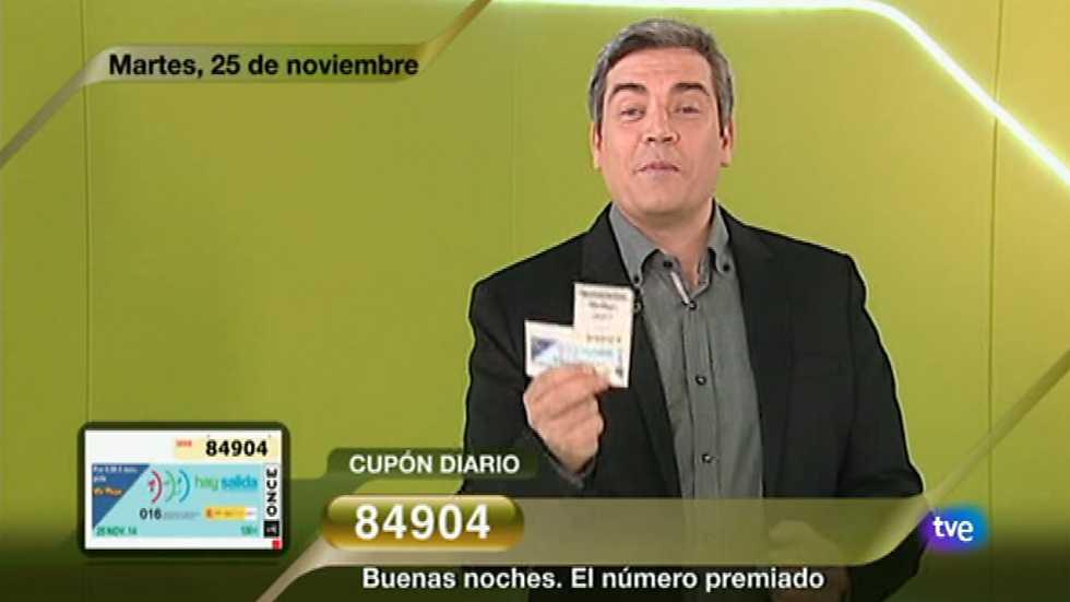 Sorteo ONCE - 25/11/14