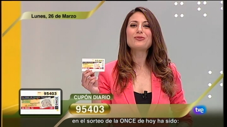 Sorteo ONCE - 26/03/12