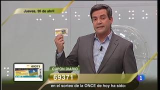 Sorteo ONCE - 26/04/12