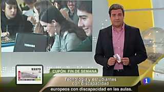 Sorteo ONCE - 26/08/12