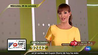 Sorteo ONCE - 26/10/16