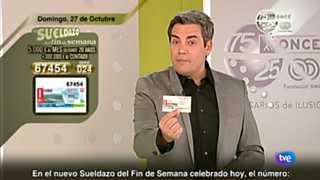 Sorteo ONCE - 27/10/13