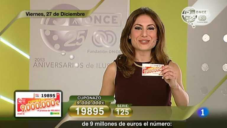 Sorteo ONCE - 27/12/13