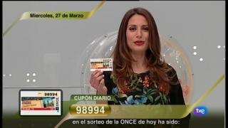 Sorteo ONCE - 28/03/12