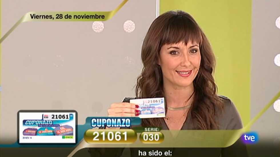 Sorteo ONCE - 28/11/14