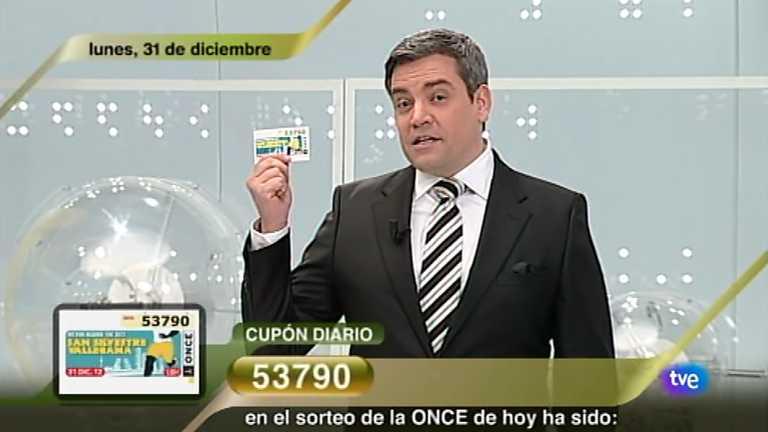 Sorteo ONCE - 31/12/12