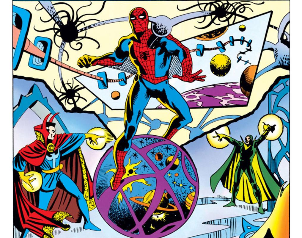 Spider-Man y Doctor Extraño (ambos de Lee y Ditko), compartieron aventuras