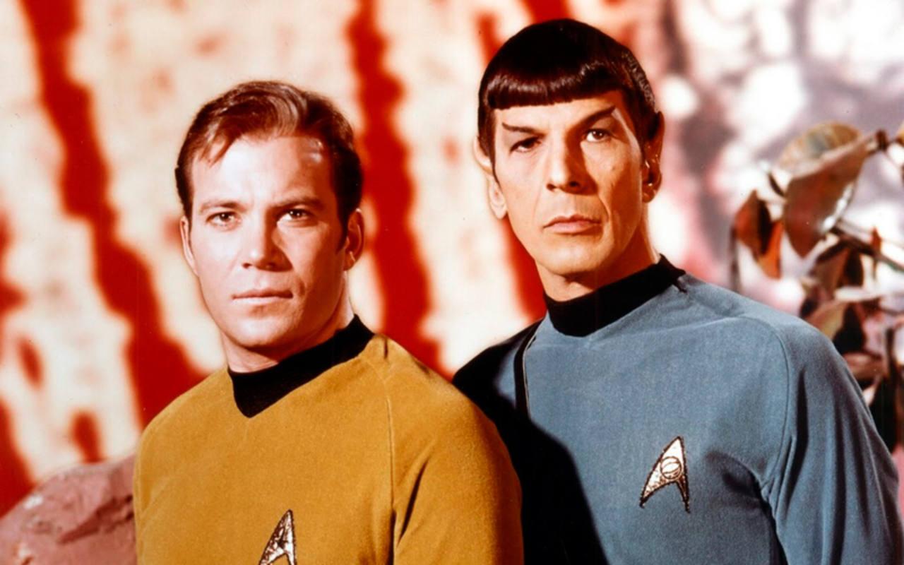 Spock y Kirk ya son dos mitos del cine y la televisión