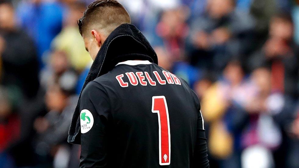 El Sporting condena las palabras de Cuéllar
