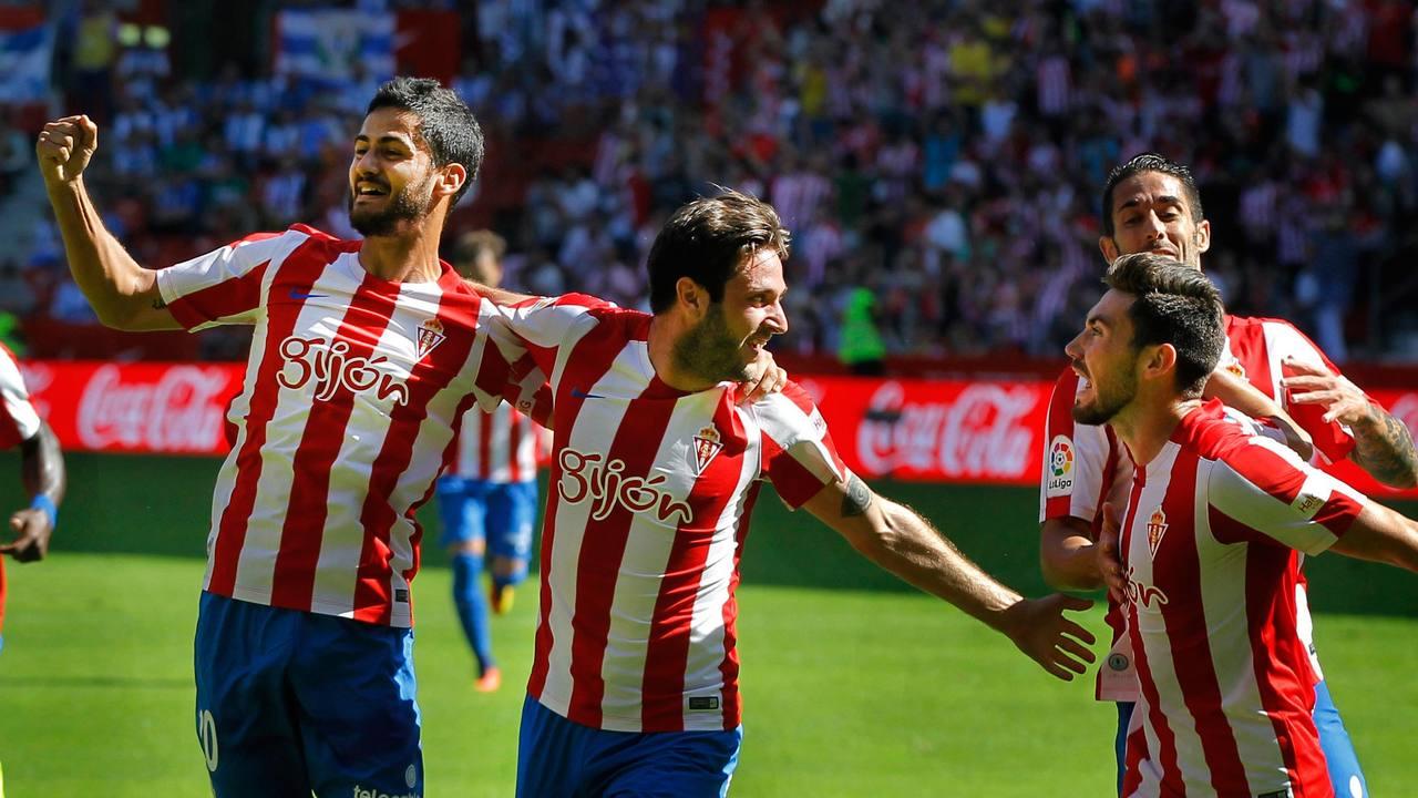 El Sporting vence al Leganés