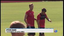 Steve Nash també juga a futbol