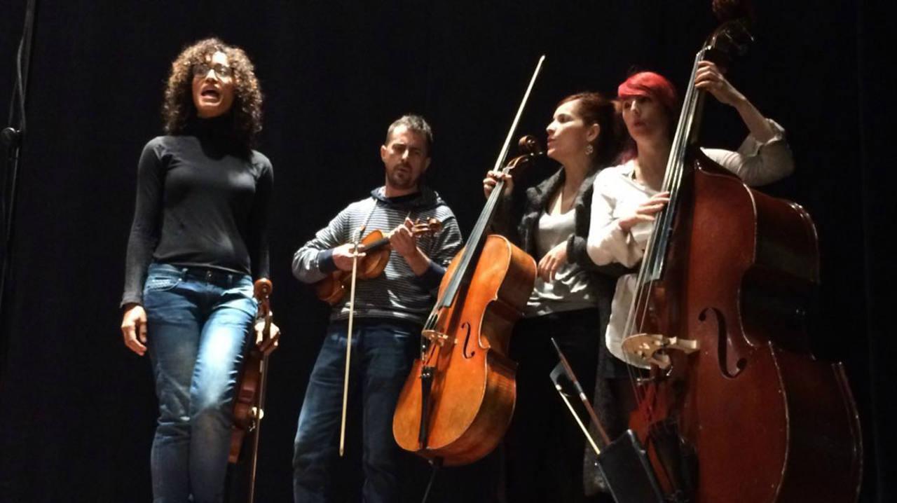 Stradivarias en acción