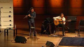 """La sede de la Unesco en Paris pone público y tablao para el """"Flamenco Universal"""" de Pepe Habichuela y Jorge Pardo"""