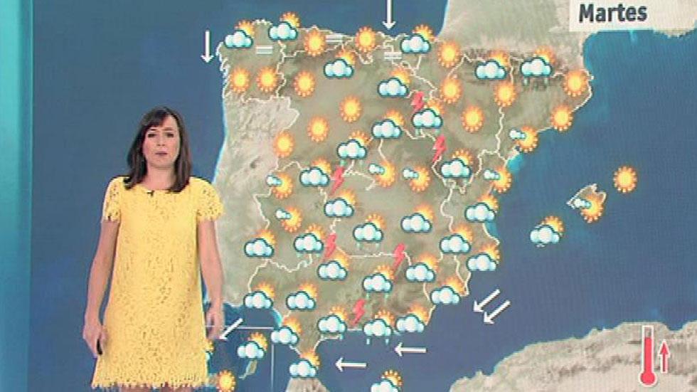 Suben las temperaturas en el tercio norte y Baleares