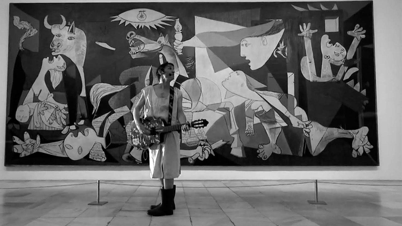 "Suena Guernica -Albert Pla, ""Están cayendo bombas en Madrid"""