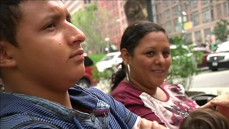 El 'sueño americano' de una familia hondureña que cruzó la frontera clandestinamente