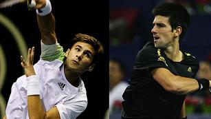 Suerte desigual para los Djokovic en Dubai