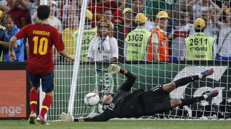 La suerte de España se decidió en los penaltis