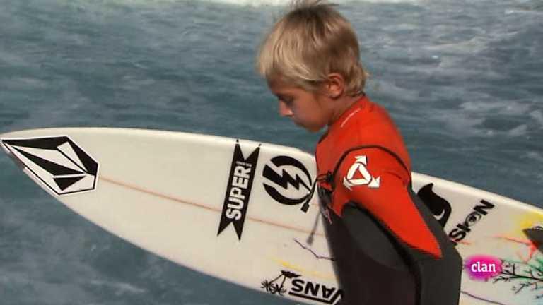 Si tú quieres no hay barreras - Surfeando con yael - Clan TV - RTVE.es