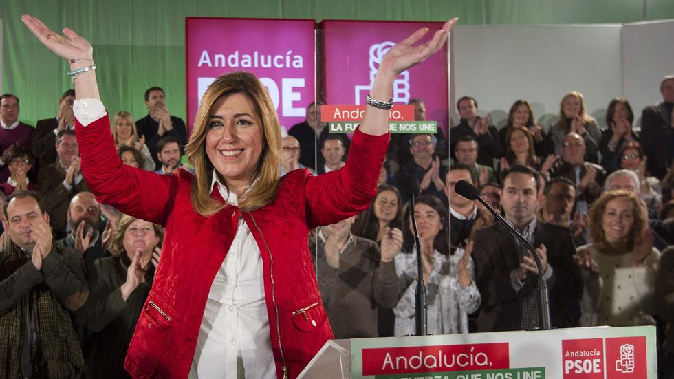 Susana Díaz descarta su intención de presentarse a las primarias del PSOE