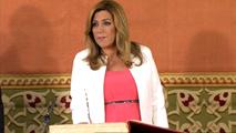 Ir al VideoSusana Díaz jura su cargo como presidenta de Andalucía