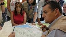 Susana Díaz sobre el incendio de Moguer