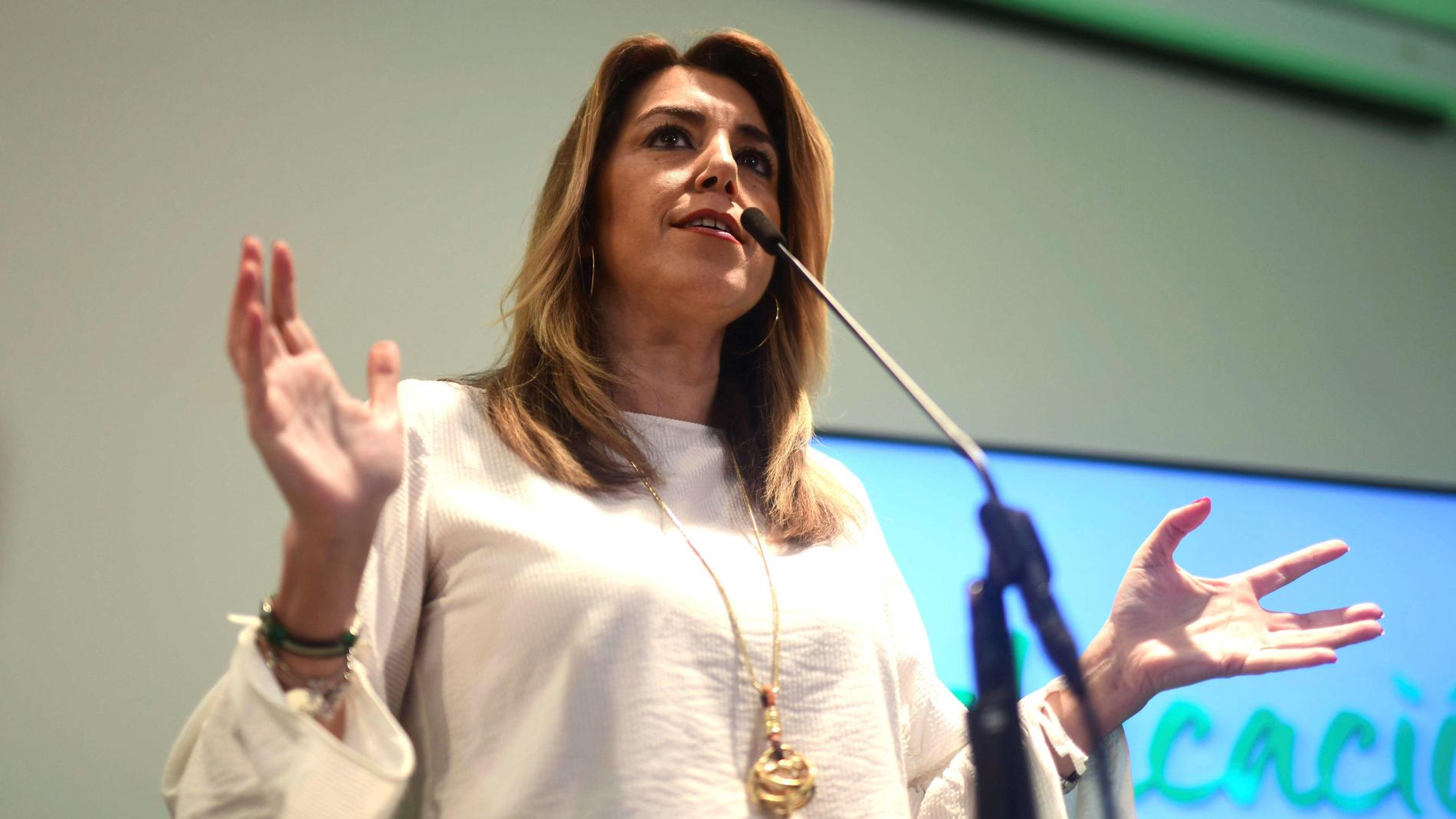 """Ir al VideoSusana Díaz: """"Una política canalla de enfrentamiento tóxico no la merecen los andaluces"""""""