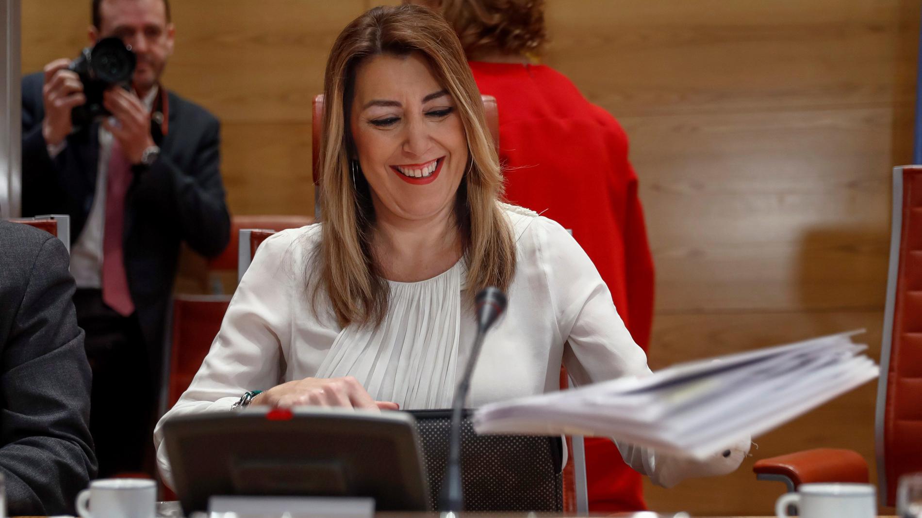 """Ir al VideoSusana Díaz y el portavoz del PP se enzarzan por los ERE en el Senado: """"Me acusa de eliminar pruebas"""""""