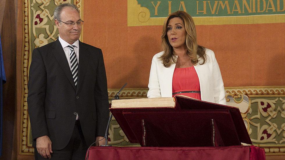 Susana Díaz toma posesión como presidenta de la Junta de Andalucía