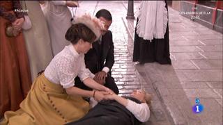 Acacias 38 - Susana sufre un ataque al ver a Juliana y Leandro proclamar su amor