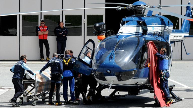 Suspendida por hoy la operación de rescate a los desaparecidos en el Mont Blanc