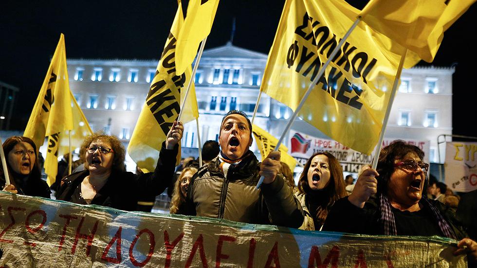 Grecia adelanta las elecciones presidenciales y asume el riesgo de comicios generales