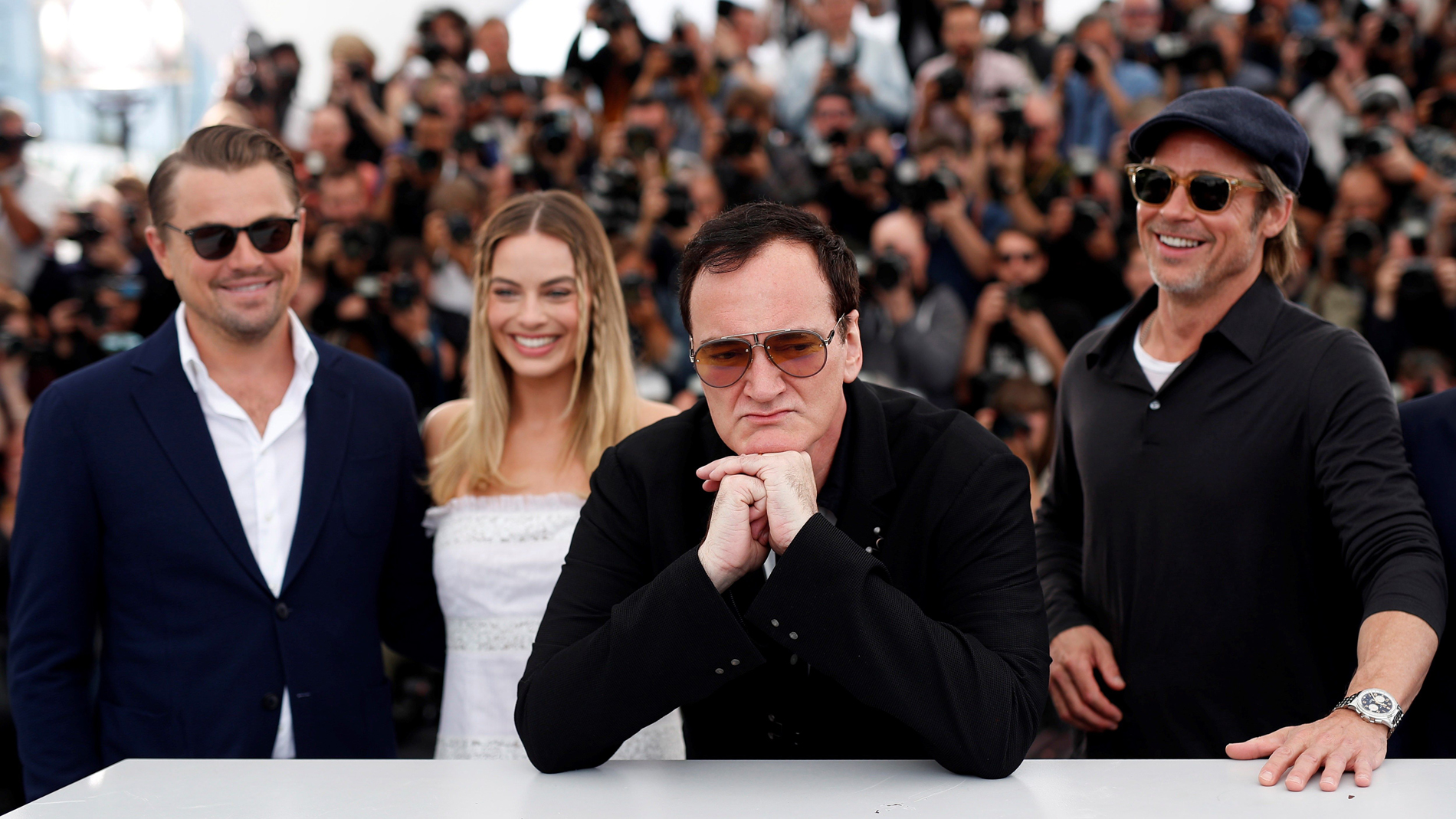 "Ir al Video Tarantino lleva a Cannes la ""incomprensible"" fascinación por Charles Manson"