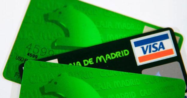 Tarjetas de Caja Madrid