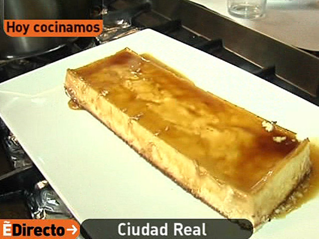 España Directo - Tarta de queso manchego