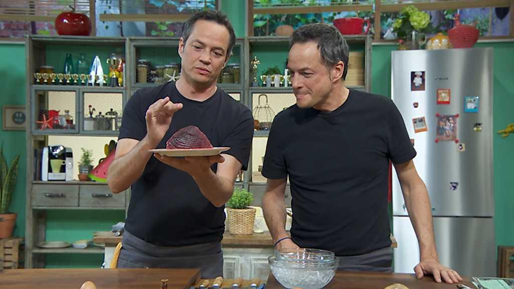 Torres en la cocina - Tartar de atún y pasta con cigalas