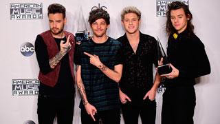 Taylor Swift y One Direction son los grandes triunfadores de los 'American Music 2015'