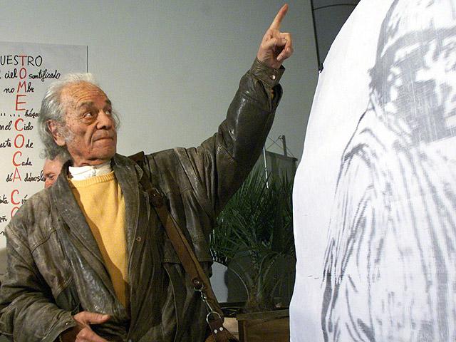 Premio Cervantes para el poeta Nicanor Parra