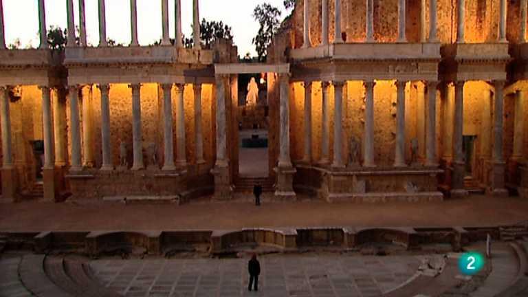 La mitad invisible - Teatro romano de Mérida