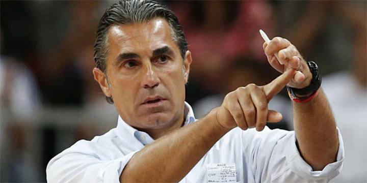 El técnico de la selección española, Sergio Scariolo