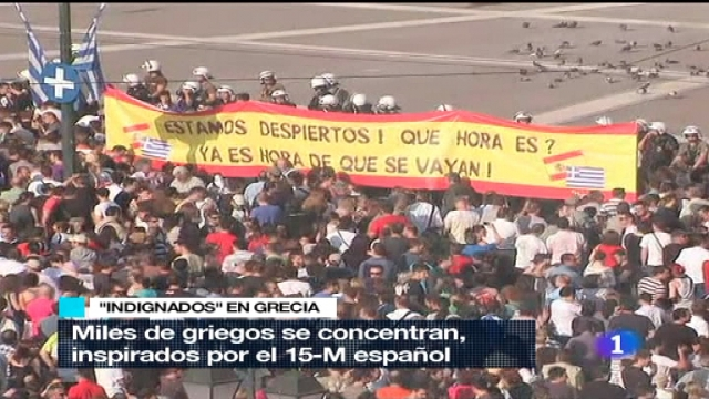 Telediario - 21 horas - 25/05/11