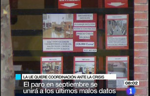 Telediario matinal en cuatro minutos - 02/10/08